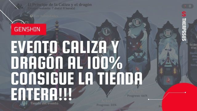 Evento principe caliza y dragon genshin