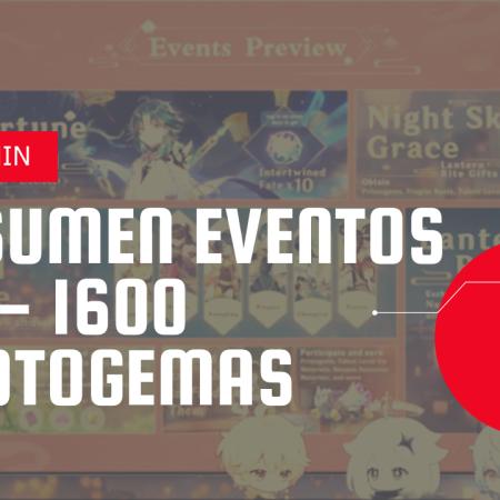 Eventos Version 1.3 Genshin Impact Geovishap Genshin Eventos Xiao Resumen version 1.3 Genshin