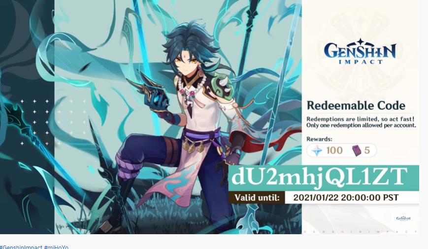 Codigos gratis Genshin Impact Version 1.3 regalos Eventos 1.3 Genshin Impact Nuevos eventos en Genshin Impact Protogemas Genshin Impact